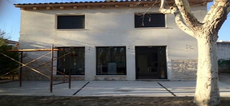 Terrazas antes Suteal Valladolid Aluminio y PVC