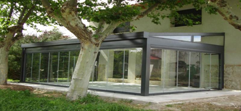 Terrazas después Suteal Valladolid Aluminio y PVC