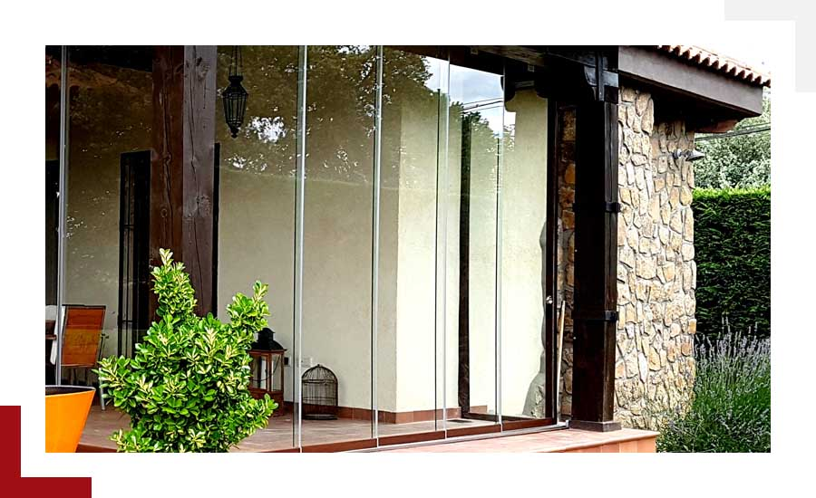 cortinas de cristal Suteal Valladolid