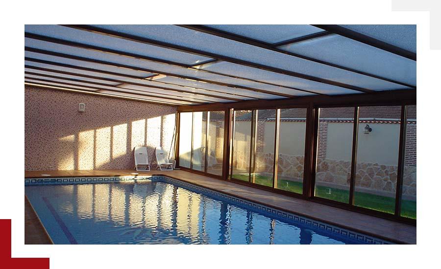 cubiertas de piscina Suteal Valladolid