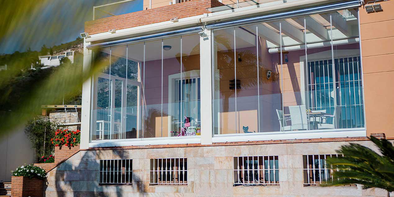 cortinas de cristal Suteal Valladolid 9