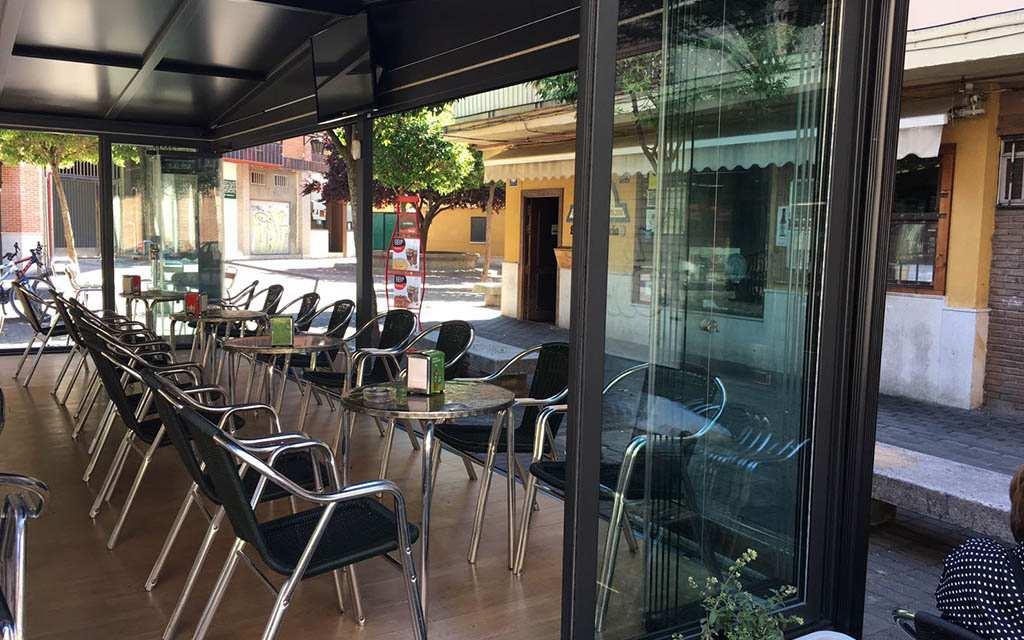 cubiertas fijas y móviles hostelería Suteal 2
