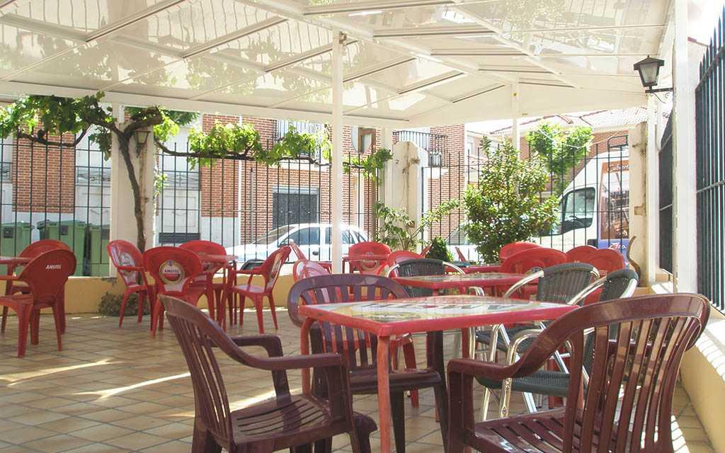 cubiertas fijas y móviles hostelería Suteal 4